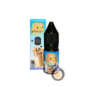 Project Ice - Boba Milk Tea Original Salt Nic - Vape Juice & E Liquid