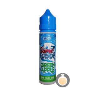 Cloudy O Funky (COF) - Super Cool Geen Apple - Vape E Juice & E Liquid