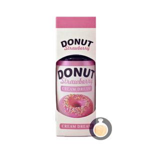 Cream Dream - Donut Strawberry - Vape E Juices & E Liquids Online Store