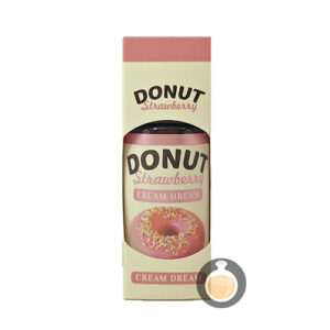 Cream Dream - Donut Strawberry - Vape E Juices & E Liquids Online Store