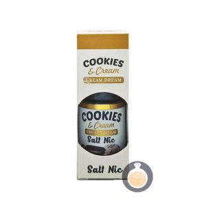 Cream Dream - Salt Cookie & Cream - Vape E Juices & E Liquids Store