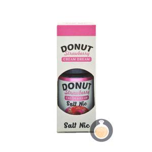 Cream Dream - Salt Donut Strawberry - Vape E Juices & E Liquids Store