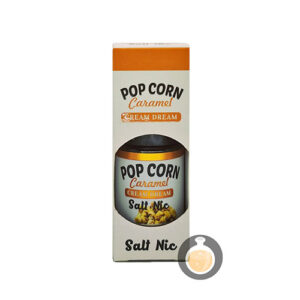 Cream Dream - Salt Pop Corn Caramel - Vape E Juices & E Liquids Store