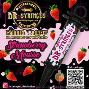 Dr Syringes - Strawberry Mousse - Malaysia Vape Juice & E Liquid Store