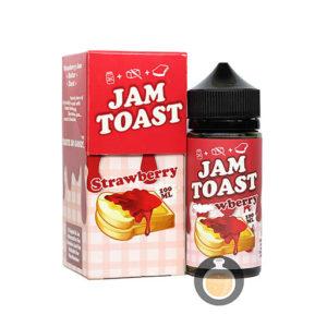 Jam Toast - Strawberry - Malaysia Best Vape E Juice & E Liquid Store