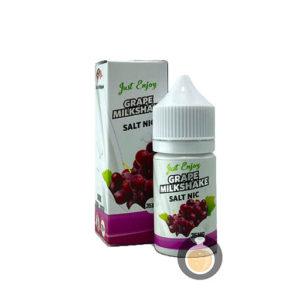 Just Enjoy - Salt Nic Grape Milkshake - Vape E Juices & E Liquids Store