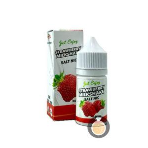 Just Enjoy - Salt Nic Strawberry Milkshake - Vape Juices & E Liquids Store