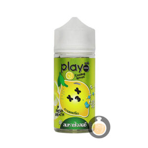 Play More - Cooling Lemon - Malaysia Online Vape Juice & E Liquid Shop