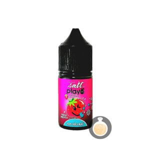 Play More - Salt Nic Cooling Strawberry - Vape Juice & E Liquid Store