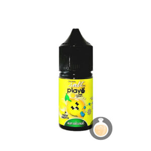 Play More - Salt Nic Cooling Lemon - Vape Juice & E Liquid Pod Systems
