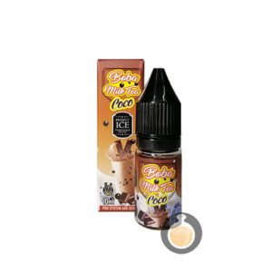 Project Ice - Boba Milk Tea Coco Salt Nic - Best Vape Juice & E Liquid