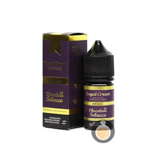Royal Cream - Chocolate Tobacco Salt Nic - Vape Juice & E Liquid Store
