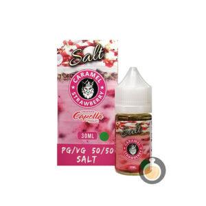 Flamingo E Lic - Caramel Strawberry Salt Nic - Vape E Juices & E Liquids