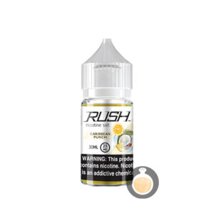 Rush - Nicotine Salt Caribbean Punch - Malaysia Vape Juice & US E Liquid