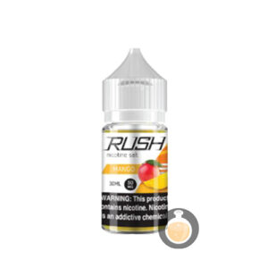 Rush - Nicotine Salt Mango - Malaysia Vape Juice & US E Liquid Online Shop