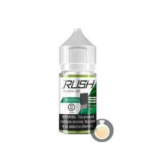 Rush - Nicotine Salt Menthol - Malaysia Vape Juice & US E Liquid Website