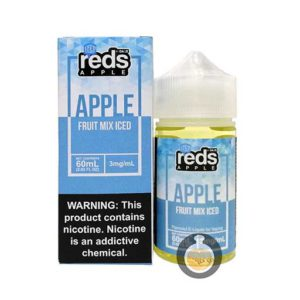 7 Daze - Reds Apple Fruit Mix Iced - Wholesale Vape Juice | E Liquid Distro