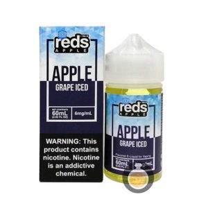 7 Daze - Reds Apple Grape Iced - Wholesale Vape Juice & E Liquid Distro