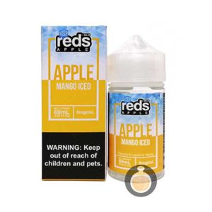 7 Daze - Reds Apple Mango Iced - Malaysia Vape Juice & US E Liquid Store