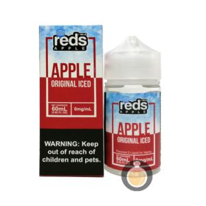 7 Daze - Reds Apple Original Iced - Malaysia Vape Juice & US E Liquid