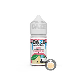 7 Daze - Reds Salt Series Apple Strawberry Iced - US Vape Juice & E Liquid