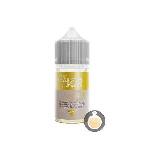 Euro Gold Tobacco by Naked 100 Salt E-Liquid 30ml ⋆ Vape