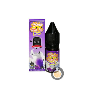 Project Ice Boba Tea Series - Milk Tea Yam Salt Nic- Vape Juice & E Liquid