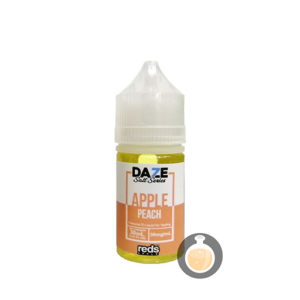 7 Daze - Salt Series Reds Apple Peach - Wholesale Vape Juice & E Liquid