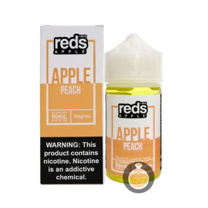 7 Daze - Reds Apple Peach - Wholesale Vape Juice | E Liquid Distribution