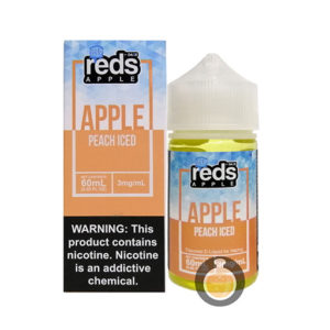 7 Daze - Reds Apple Peach Iced - Wholesale Vape Juice | E Liquid Distro