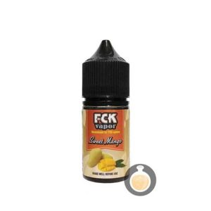 FCK Vapor - Sweet Mango - Wholesale Vape Juice & E Liquid