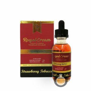 Royal Cream - Strawberry Tobacco - Wholesale Vape E Juices & E Liquids Online Store